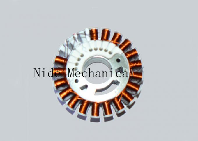 Automatic Ceiling Fan Multi Poles Stator Winding Machine / Machinery For External Armature