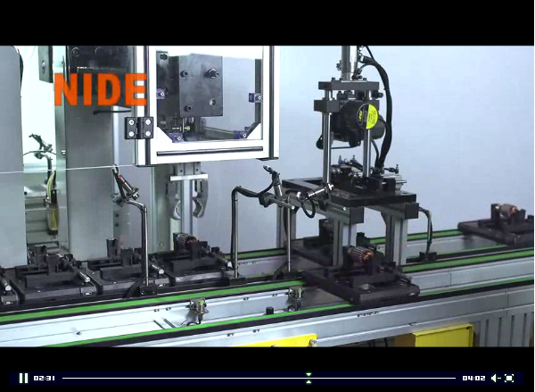 Fully Automatic Mixer Motor Armature Manufacturing Machine Rotor Assembly Line