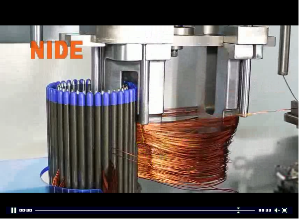 stator coil winding machine
