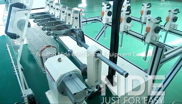 Multistrand Type Coil Winding Equipment For Multiple Wire Parallel Coil Winding