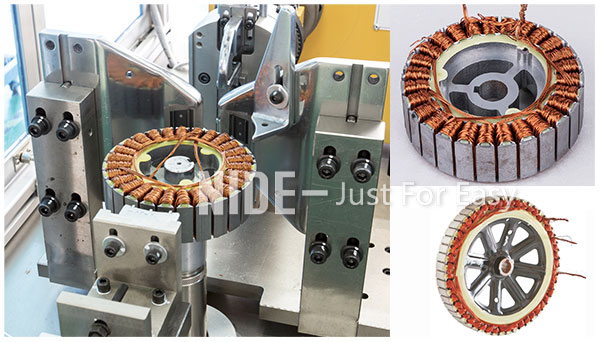 new energy vehicles electric vehicles motor winding machine