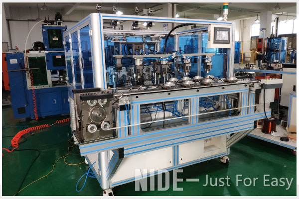 Fully automatic inverter motor stator needle coil winding machine from China electric motor machine manufacturer-1