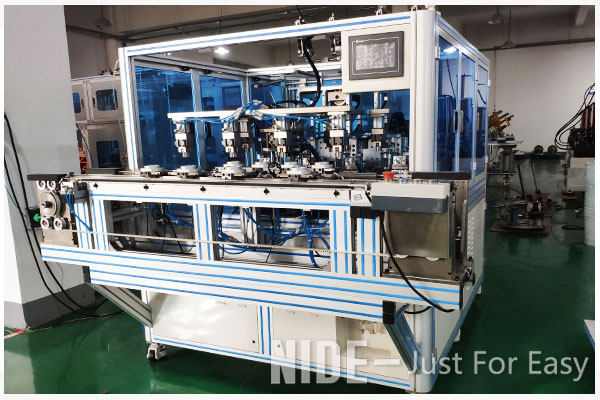 Fully automatic inverter motor stator needle coil winding machine from China electric motor machine manufacturer-2