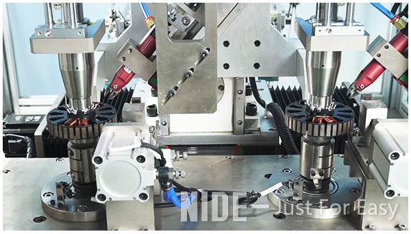 automatic ceiling fan winding machine