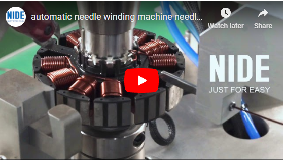 automatic ceiling fan winding machine youtube video