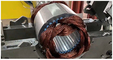 how to make water pump motor stator?