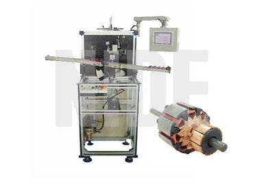 China Servo Motor Wedge Cutting , Forming And Inserting Machine Fully Automatic supplier