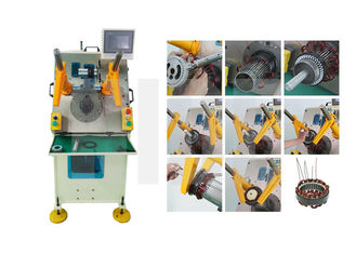 China Automatic Stator Winding Coil & Wedge Inserting Machine With PLC control supplier