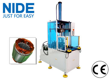 China Induction Motor Stator Winding Coil Forming Machine with hydraulic system , Middle size supplier