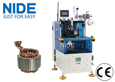 China Servo Double Sides Stator Winding Lacing Machine Low Noise Automatic supplier