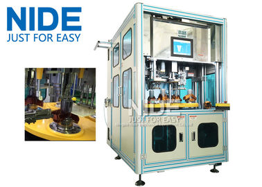 China Efficent Automatic Coil Winding Machine / Wire Coil Inserting Machine Four Working Station supplier