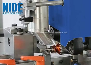 Fully Auto Armature Rotor Turning Machine Plc Control In Blue / Customized Color