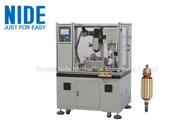Servo Double Cutter Commutator Turning Machine For Window Lifter Motor , Full Automatic