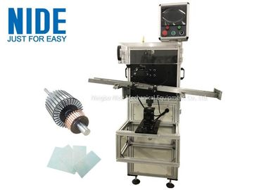 Shaft Od 3 - 17mm Paper Inserting Machine For Auto Rotor Armature Insulation