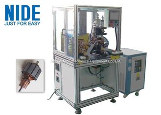 800kg Armature Coil Winding Machine For Motor Armature Rotor Commutator Hot Stacking