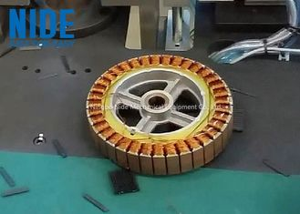 Armature Automatic Motor Winding Machine For Balance Car Wheel Hub Motor / Stator
