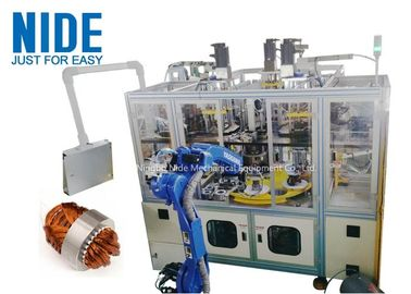 Air Conditioner Stator Winding Inserting Machine 4 Working Station 380v 50 / 60hz