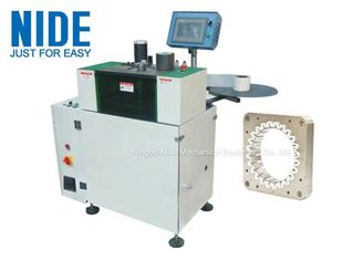 Automation Slot Insulation Paper Inserting Machine For Induction Motor Stator
