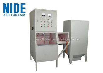 Mixer Meat Grinder Motor Stator Coil Winding Powder Coating Machine / Equipment