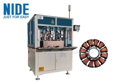 Automatic Electric Motor External Rotor Coil Winding Machine,2 Stations Needle Winder