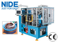 China High efficiency automatic 4 working stations electric motor stator coil lacing machine line company