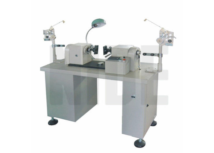 Semi Auto Double Flyer Armature Winding Machine Reliable , PLC Controlled