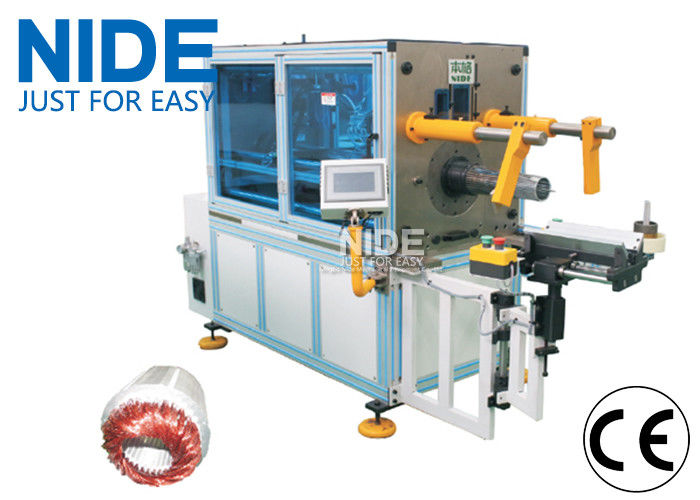Electric Motor Stator Winding Inserting Machine With