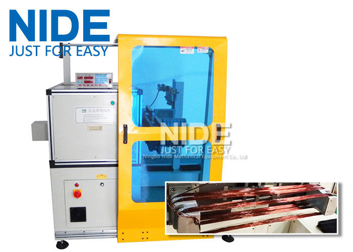 Horizontal Toroid Full Automatic Coil Winding Machine For Big Wire ...