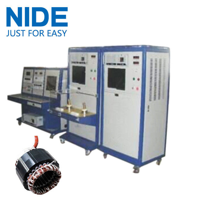Motor Winding Tester : Air condition motor stator testing panel equipment