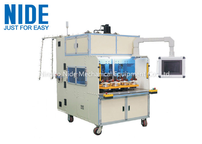 Eight Working Station motor stator Coil Winding Machine For Small And Middle Size Stator