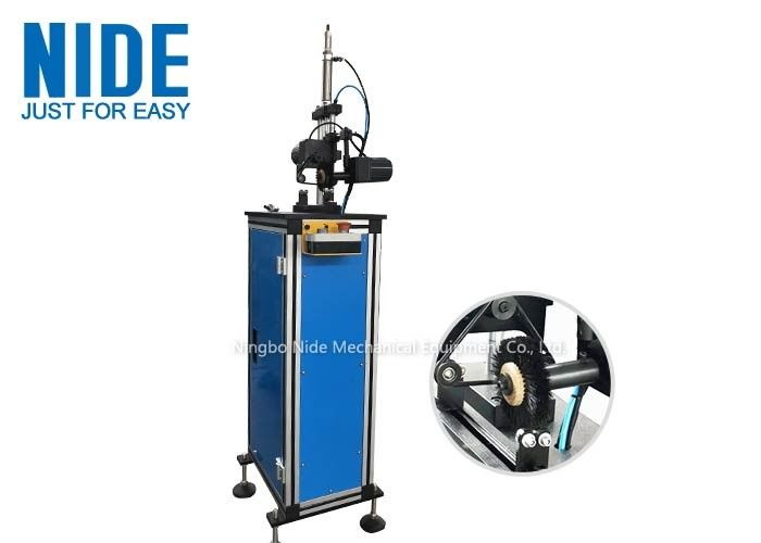 Motor Armature Rotor Automatic Turning Machine Remove Burrs With Brush