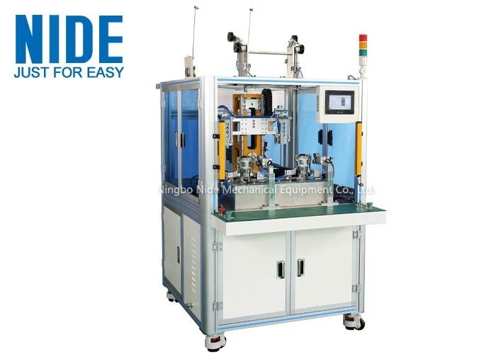 Automatic Needle Coil Winding Machine Customized For Double - Station Bldc