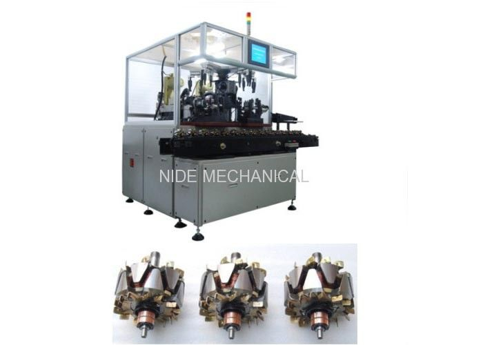 Rotor Balancing Equipment / Armature Balancing Machine With Conveyor 4.5KW