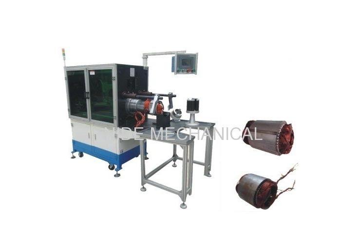Electric motor stator winding inserting machine for Electric motor winding machine