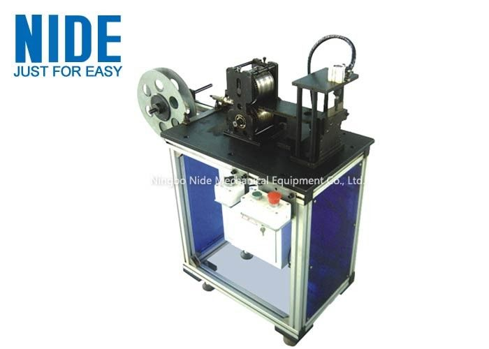 Stator Insulation Paper Shaping And Cutting Machine For Two Slots Motor