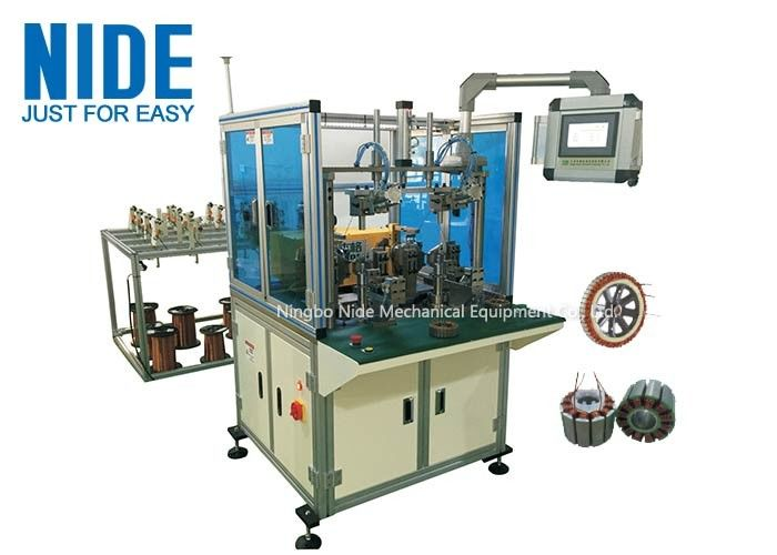 More Efficent Full Auto Electric Balancer Stator Coil Wire Winding Equipment