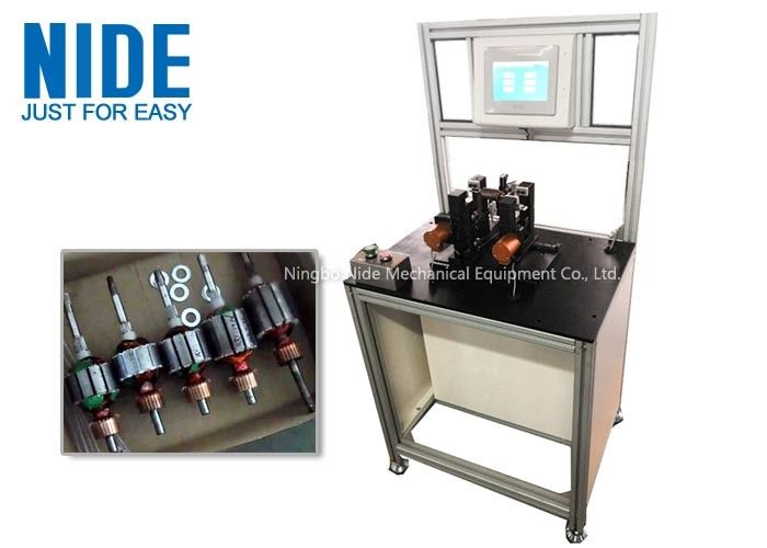 Middle Type Armature Dynamic Balancing Equipment For Vacuum Cleaner Motor Rotor