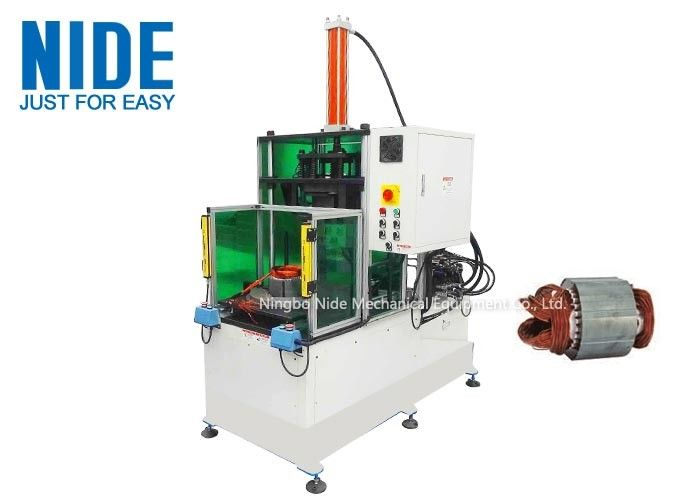 PLC Control Automatic motor Coil Forming Machine For Stator Winding final forming