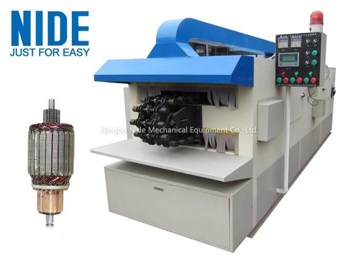Automatic Armature Trickle Impregnation Machine / Equipment With Air Cooling