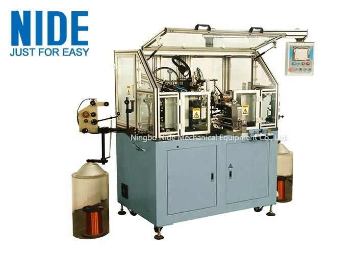 Economic Fast Fully Automatic Armature Winding Machine For Hook Type Armature