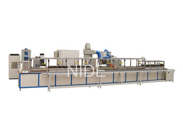 Mini Rotor Insulating Electrostatic Powder Coating Production Line For Automotive