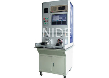 Automatic Vacuum Cleaner Motor Test Equipment / Armature Testing Machine
