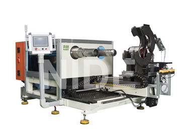 Coil Expanding And Stator Winding Inserting Machine , Two Working Stations