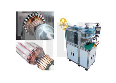 Pneumatic Rotor Slot Wedge Inserting Machine / Automatic Coiling Machine