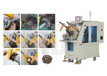 Simultaneously Wedge and Coil Inserting Machine for Induction Motor Stator