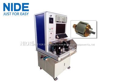 Motor Testing Equipment , Miniature Automatic armature rotor surge testing panel machine
