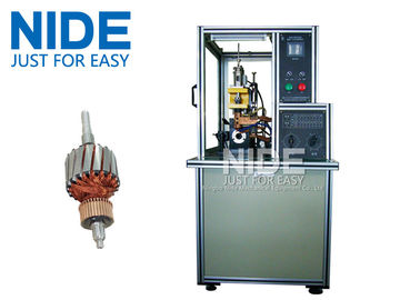 Modular And Precise Armature Commutator Hook Welding and Fusing Machine