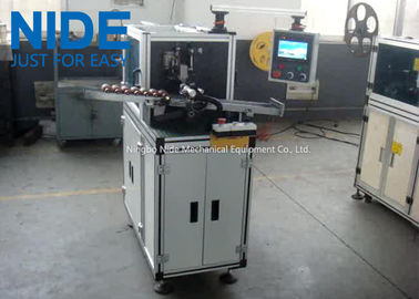 Pneumatic Rotor Slot Wedge Inserting Machine / Automatic Coiling Machine