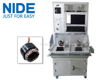 Nide Double Stations Motor Testing Equipment For Testing Stator Working