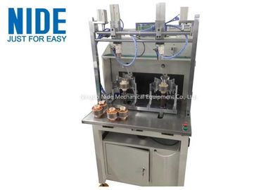 External Armature Rotor Coil Winding Machine Brushless Motor With Double Stations